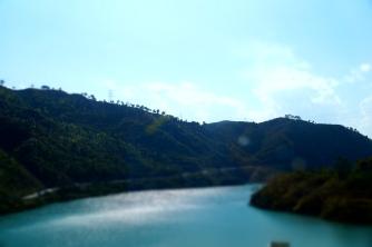 Alaknanda - a short distance from Srinagar
