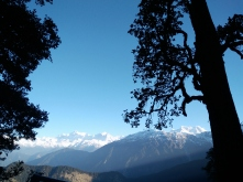 Scenic Trail on the way to Tungnath