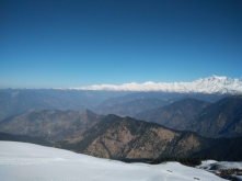 Mesmerizing Himalayas from Tungnath Temple