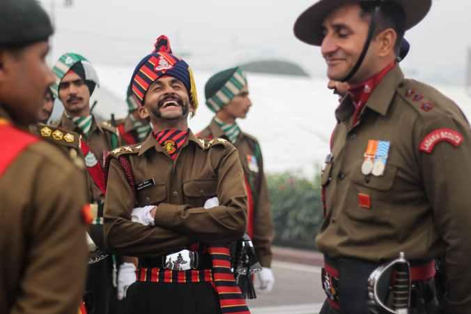smiling men